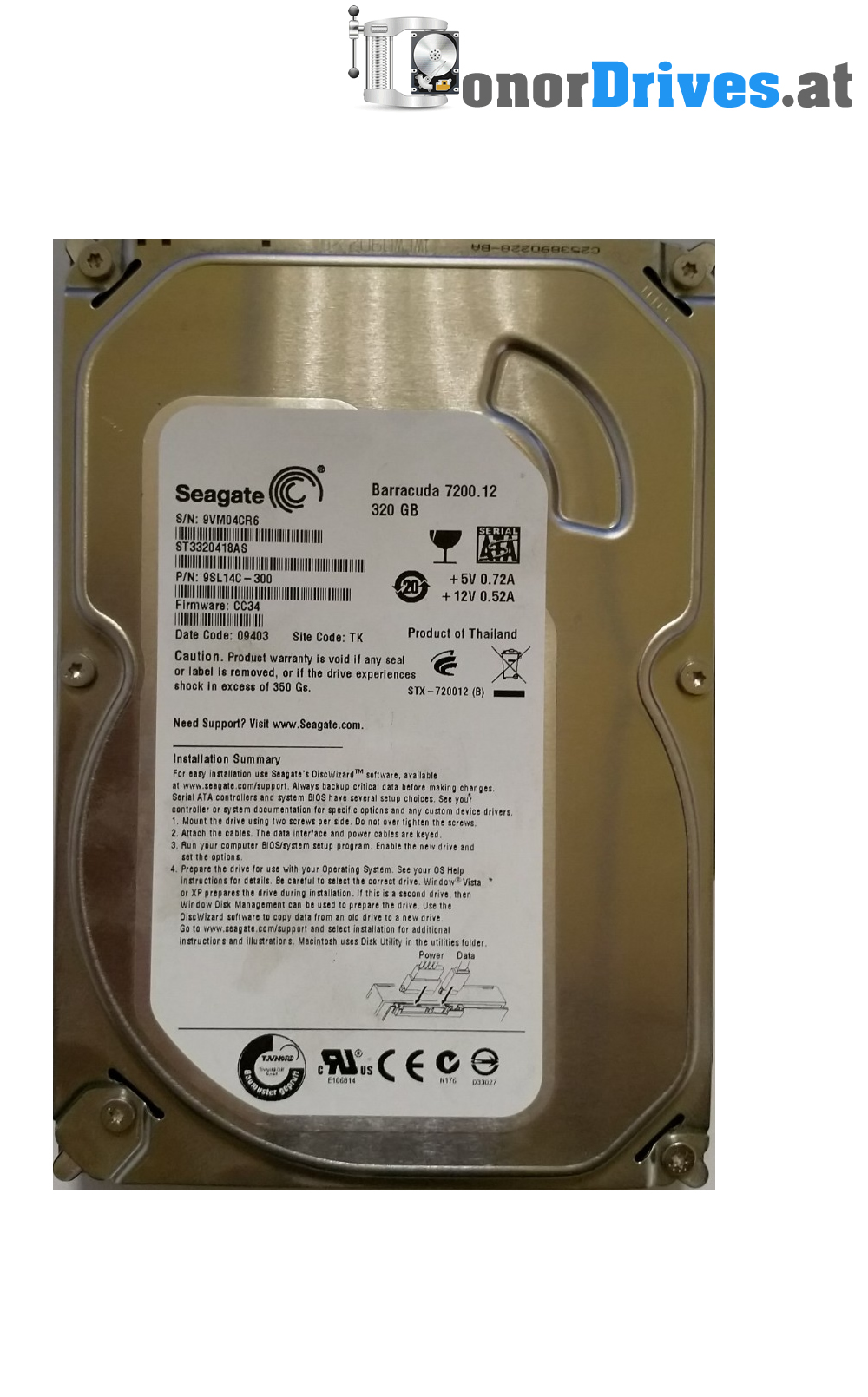 Seagate ST3320418AS SATA Drive Driver for Mac Download