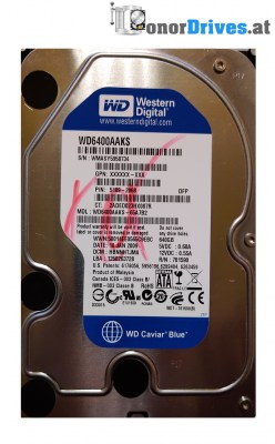 Western Digital WD2500JS-22MHB0 - 250 GB - PCB 2060-701335-005 Rev. A