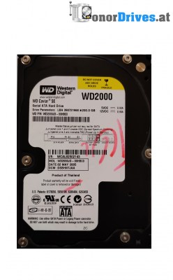 Western Digital WD2500AAKX-603CA0 - 250 GB - PCB 2060-771640-003 Rev. A
