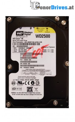 Western Digital WD2000JD-00HBC0 - 200 GB - PCB 2060-701267-001 Rev. A