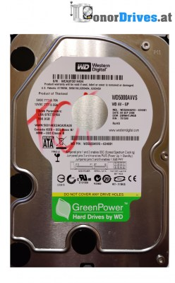 Western Digital WD6400AAKS-65A7B2 - 640 GB - PCB 2060-701590-000 Rev. A