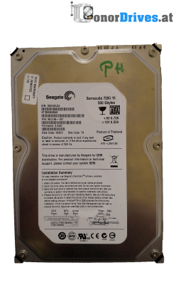 Seagate ST3500630AS-9BJ146-197 - 500 GB - PCB100406533 Rev.A